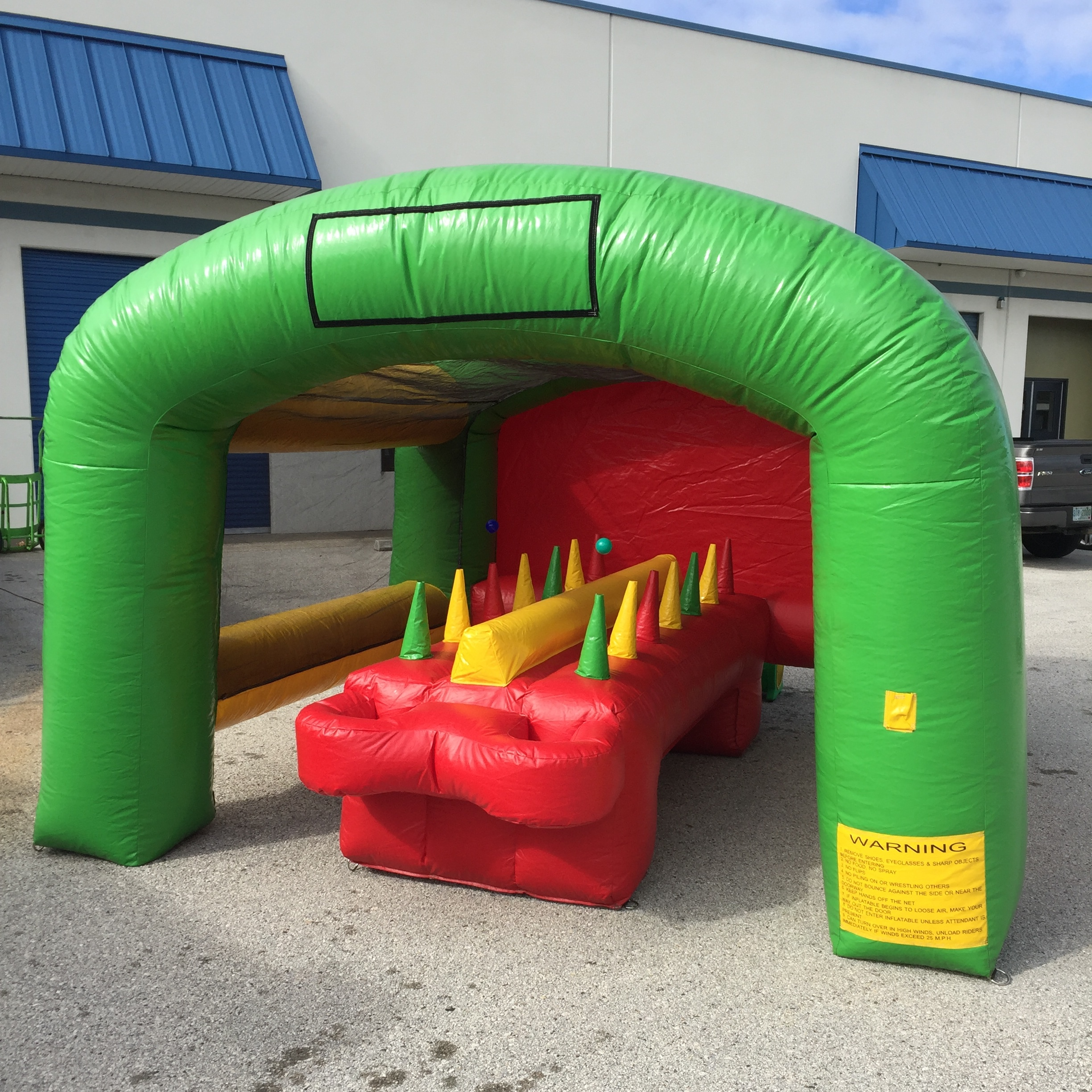 Inflatable Table Inflatable Interactive Game Rentals